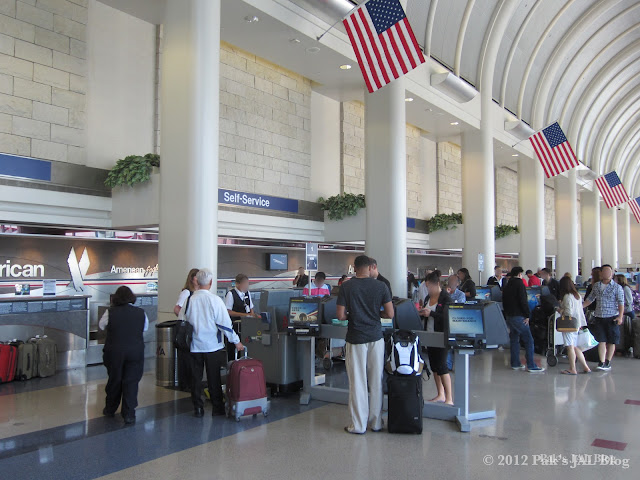 American Airlines Self-Service Check-In Counters at LAX