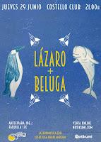 Concierto de Lázaro y Beluga en Costello Club