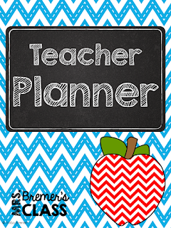 FREE Teacher planner to get you organized for school