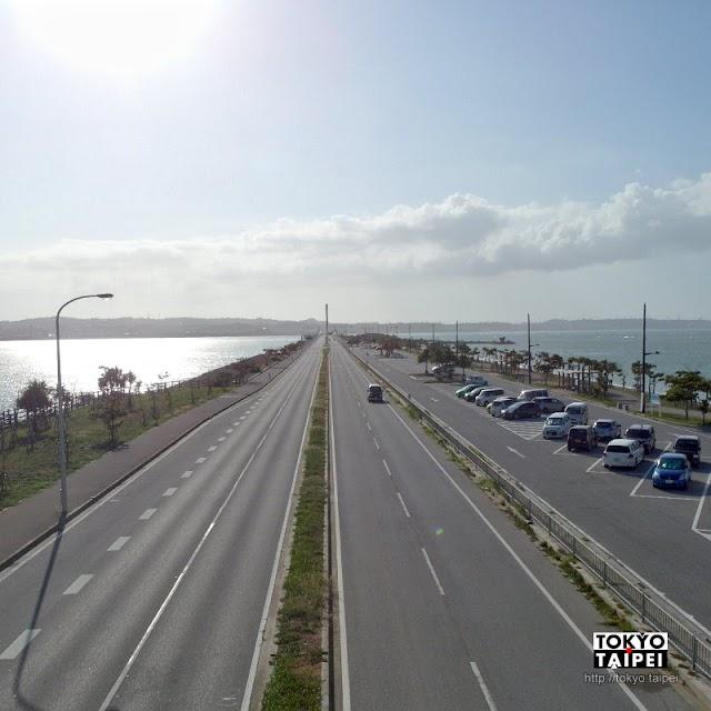 【海中道路】在湛藍上奔馳 被美麗大海包圍的5公里道路