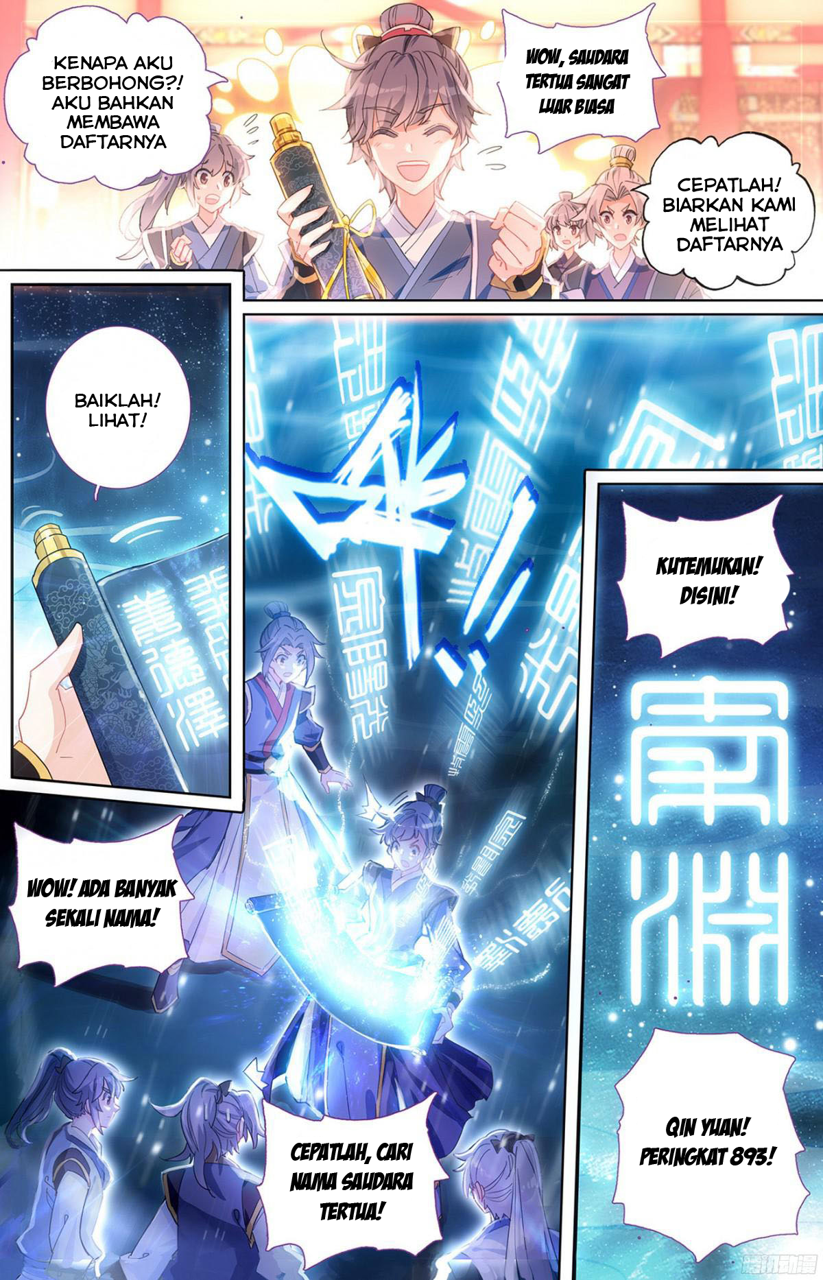 Baca Komik The Heaven's List Chapter 1 Komik Station