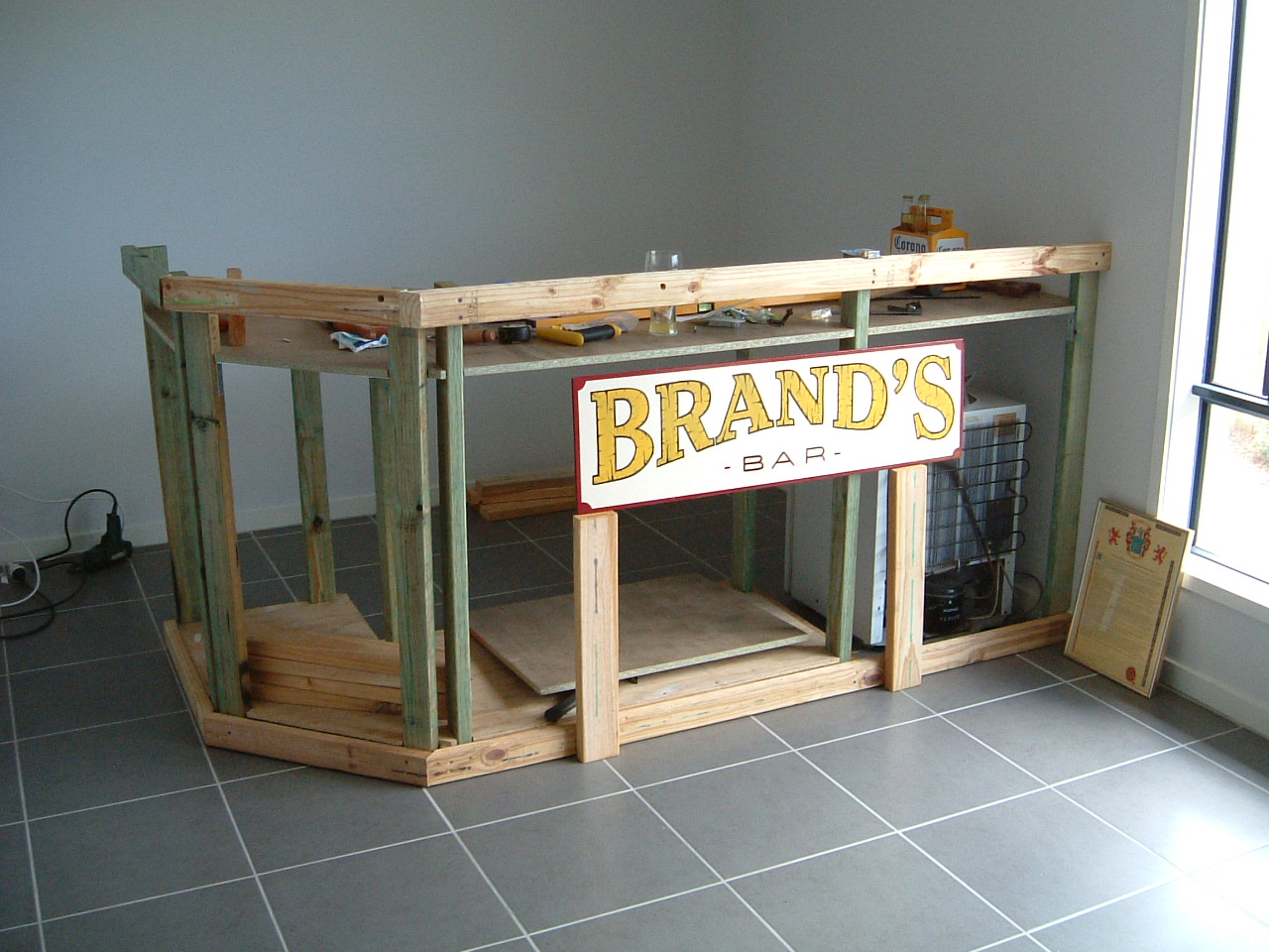 Brando\'s Bar: The Bar has begun....