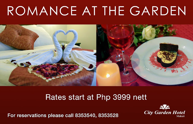 Romance at the Garden Valentine Promo
