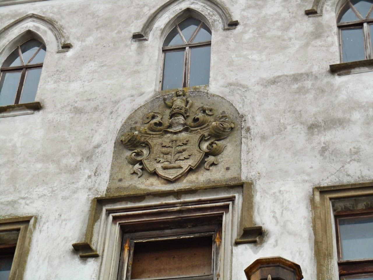 rzeźba, znaki, szlachta, budynek