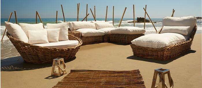 Terrazas listas para el verano get the look alquimia deco - Sofa exterior leroy merlin ...