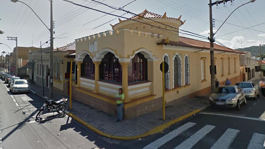 Foto da Residencia da Familia Brando em Espírito Santo do Pinhal