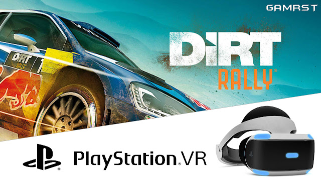 DiRT Rally PS4 VR