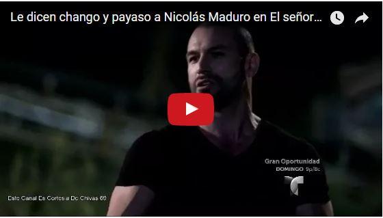 Así se burlaron de Nicolás Maduro y de Cilita en una narco-novela
