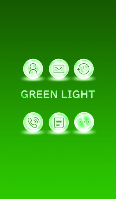 GREEN LIGHT ICON..