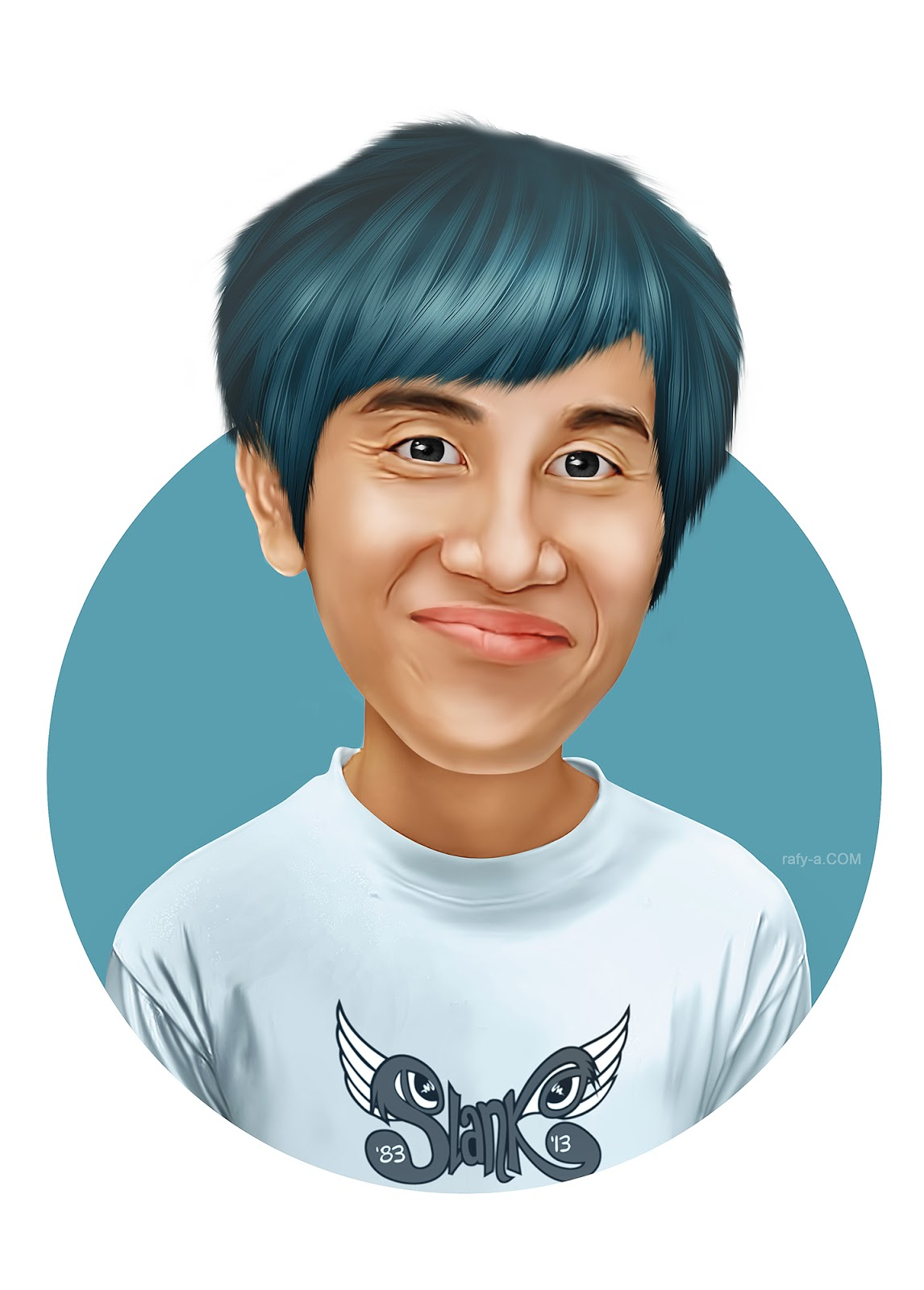 Smudge painted looks caricature photoshop effect tutorial rafy a smudge painted looks caricature photoshop effect tutorial baditri Images
