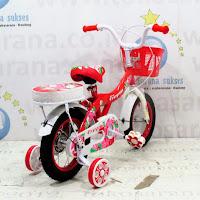 Sepeda Anak Evergreen 1233 Violet