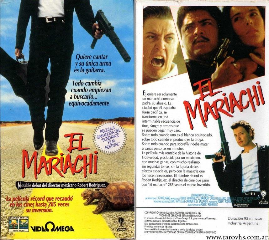 el mariachi vhs