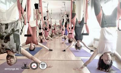 formacion  profesores aero yoga valencia, alicante, castellin, xativa