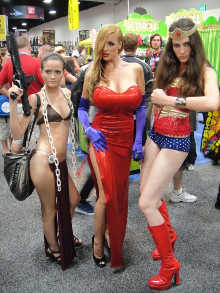 Sexy Cosplay Girls