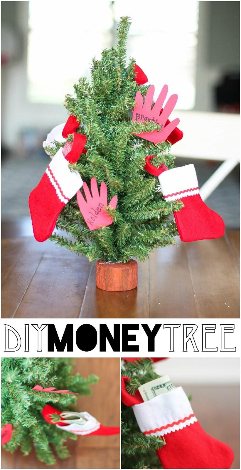 Seeing All Sides: DIY Money Tree