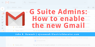 G Suite Admins: How to enable the new Gmail experience