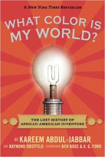 https://www.amazon.com/What-Color-World-African-American-Inventors/dp/0763664421/ref=sr_1_2?s=books&ie=UTF8&qid=1471121385&sr=1-2&keywords=kareem+abdul-jabbar+books