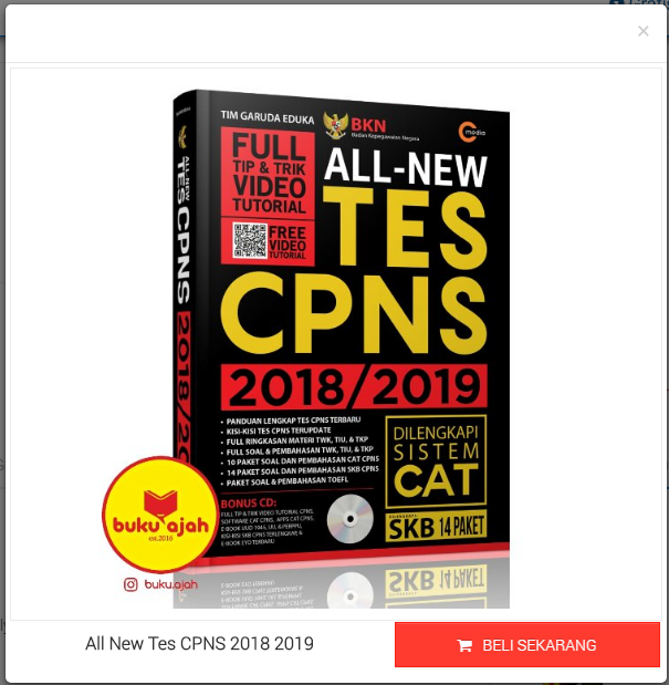 All New Tes CPNS 2018 2019