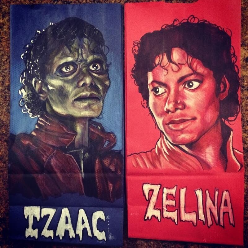 13-Michael-Jackson-L-Jinks-Brown-Bag-Art-Father-and-Drawings-for-Children-www-designstack-co
