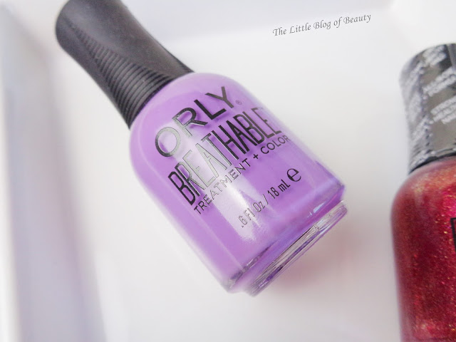 Orly Breathable Treatment + Color nail varnishes