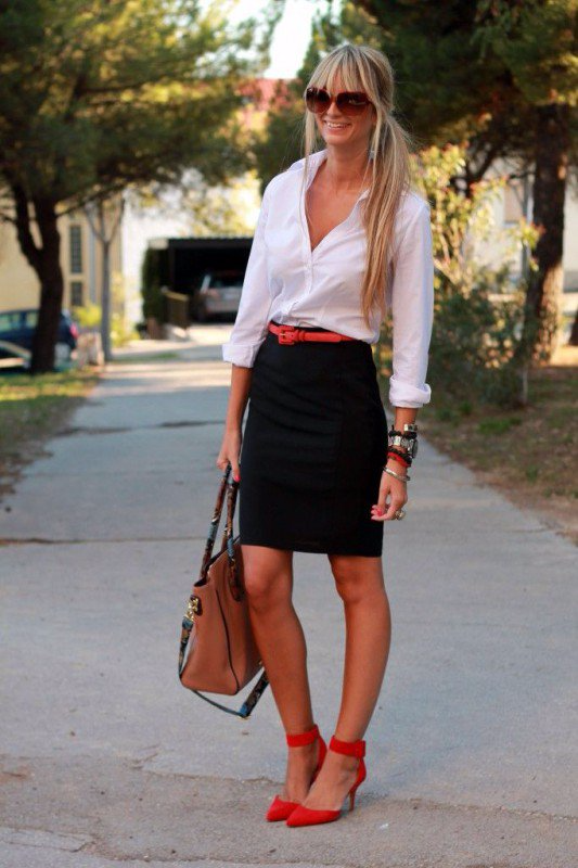 5 BEAUTIFUL SPRING WORK OUTFITS
