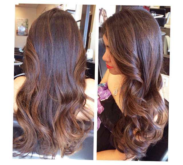 Balayage Highlights Fort Worth Picture