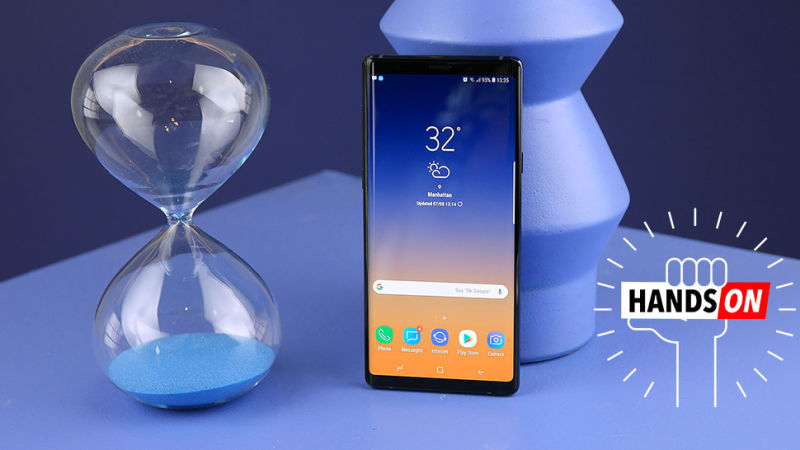The Samsung Galaxy Note 9 Hands-On Review In 2mins