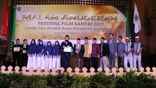 Lomba Film Pendek Antar Pesantren se-Indonesia