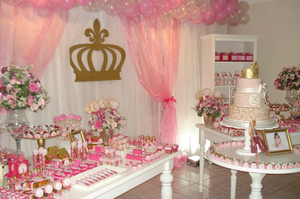 Doces Lembran 231 As Festas Personalizadas Festa Princesa