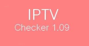 IPTV CHECKER 1.09 TÉLÉCHARGER