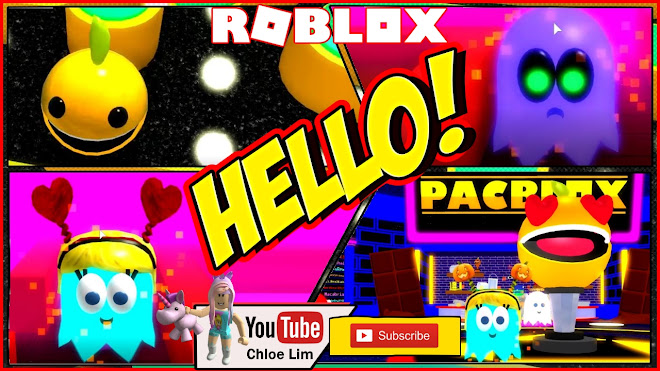Roblox Pac-Blox Gameplay! VALENTINES Getting those Little Packy ORANGES Pac-Blox Pac Man!!!