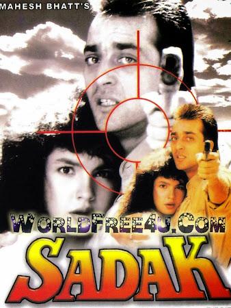 Cover Of Sadak (1991) Hindi Movie Mp3 Songs Free Download Listen Online At worldfree4u.com