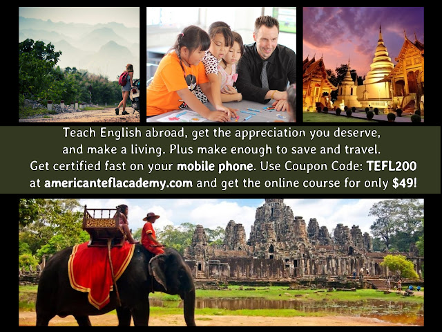 120-Hours TEFL Certification Course - Get Certified to Teach English Abroad