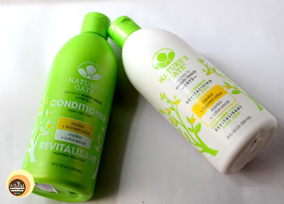 Nature's Gate Jojoba & Sacred Lotus Shampoo and Conditioner, NBAM Blog