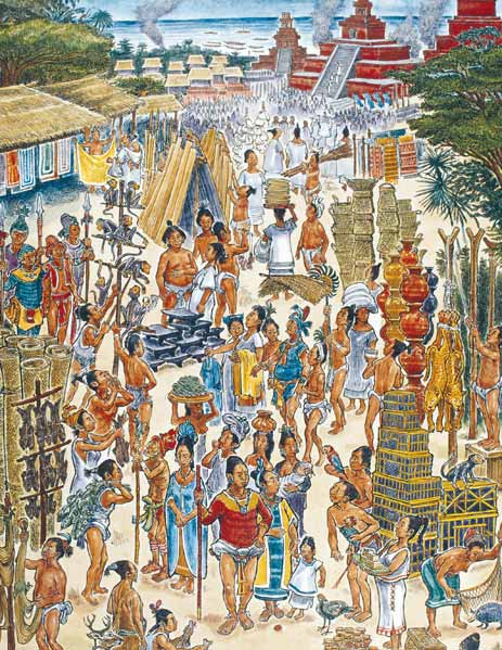 ¿Cómo era el comercio y trueque de los mayas? - Revista Explore