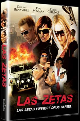 Las Zetas DVDR NTSC Español Latino Menú Full 2012
