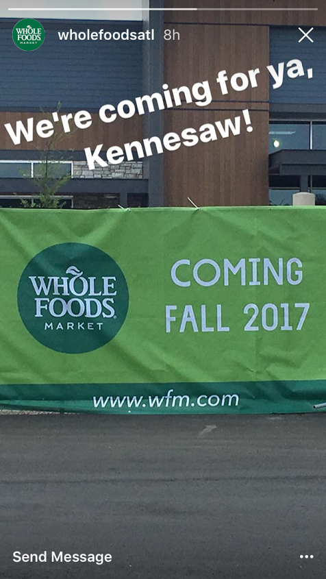 Whole Foods Alston Town Center Opening
