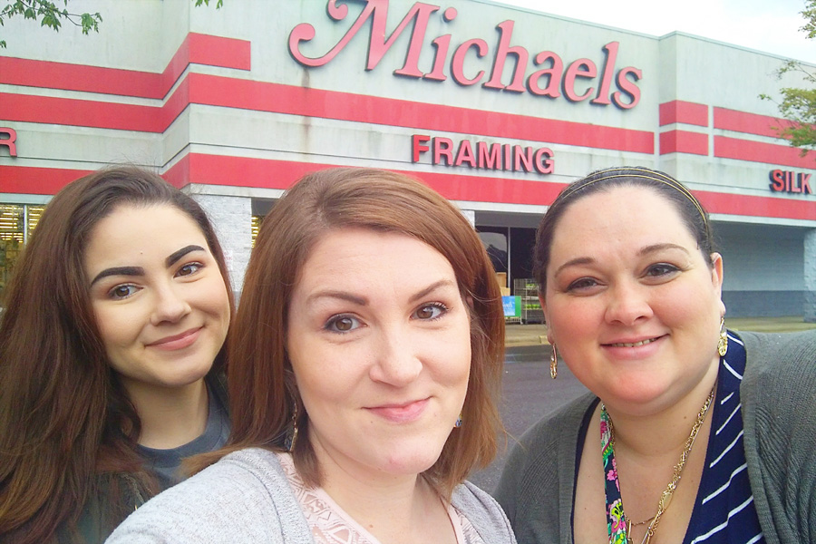 girls night out at Michael's
