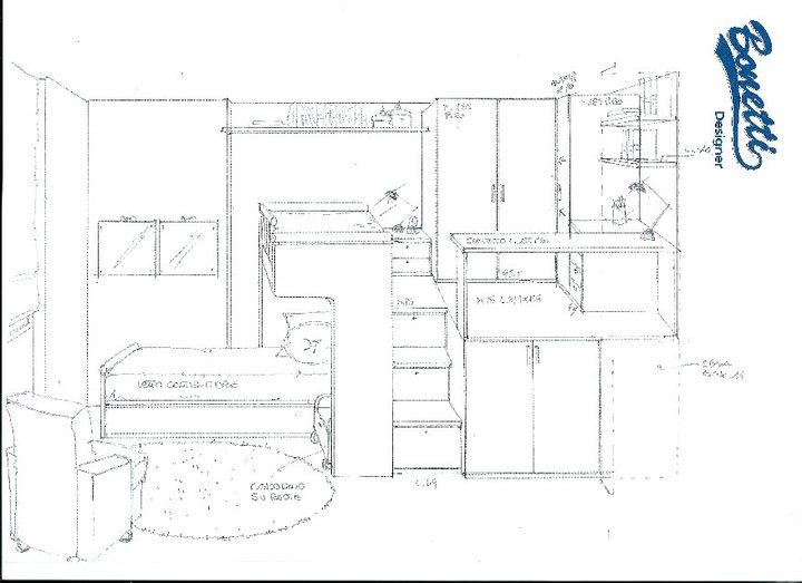 Bonetti camerette bonetti bedrooms camerette per due bambini monza e brianza milano - Progettare camerette per bambini ...