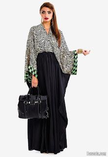 صور احدث موديل عبايات 2017 اخر موضة في الأسود Photos latest model Abaya