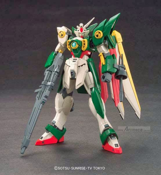 MODEL KIT WING GUNDAM FENICE HGBF 1/144 GUNDAM BUILD FIGHTERS BANDAI