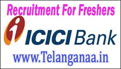 ICICI Bank Recruitment  For Freshers Apply