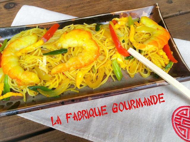 La fabrique gourmande nouilles singapour singapore mei fun for Allez cuisine translation