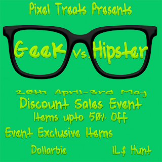 Geek vs. Hipster Cart Sale