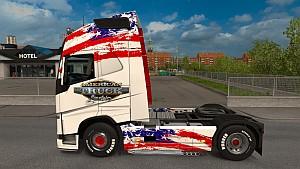 American Truck Simulator Volvo 2012 skin