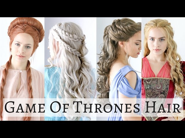 Four iconic Game of Thrones hairstyles