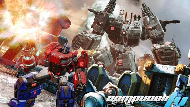 Transformers Fall Of Cybertron PC Full Español Descargar 2012 Imagen 002