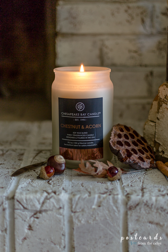 Chestnut and Acorn candle from Chesapeake Bay Candle