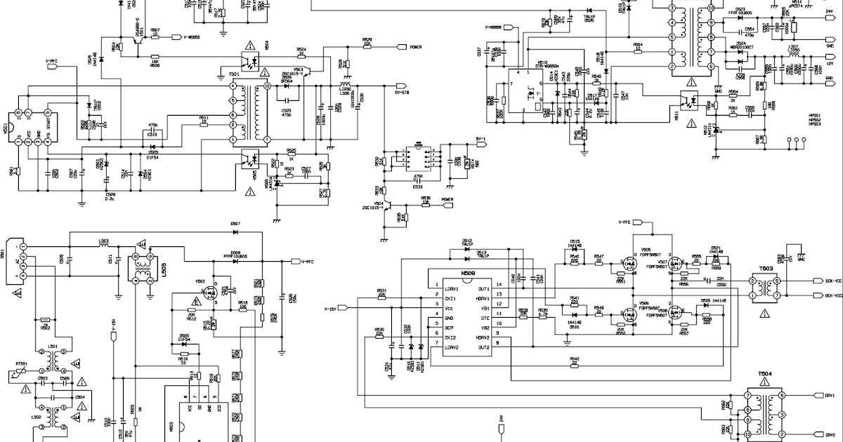 xoceco dynex lc-26kt46 lc 32kt46 lc37kt46 lc42kt46 - smps schematic - service mode