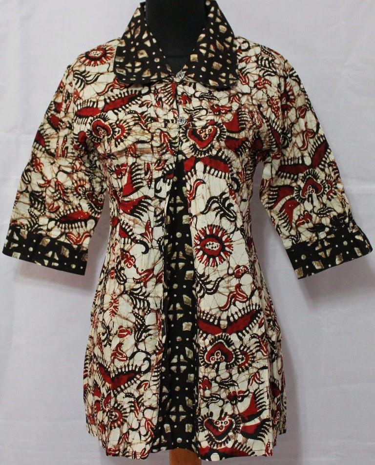 Model Baju Batik Wanita 2015: 10 Variasi Desain Baju Batik Kantor Wanita 2015